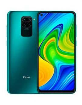 Smartphone Xiaomi Redmi Note 9 3/64GB Forest Green - 6.53' cam (48+8+2+2)/13 mp - 4G - dualsim - bat.5020mah