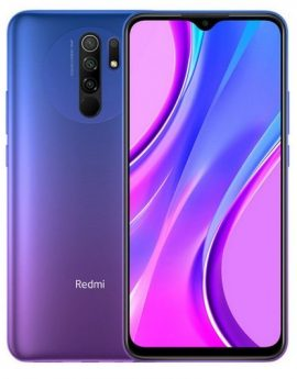 Smartphone Xiaomi Redmi 9 4/64GB Sunset Purple - 6.53' - cam (13+8+5+2)/8mp - 4G - dualsim
