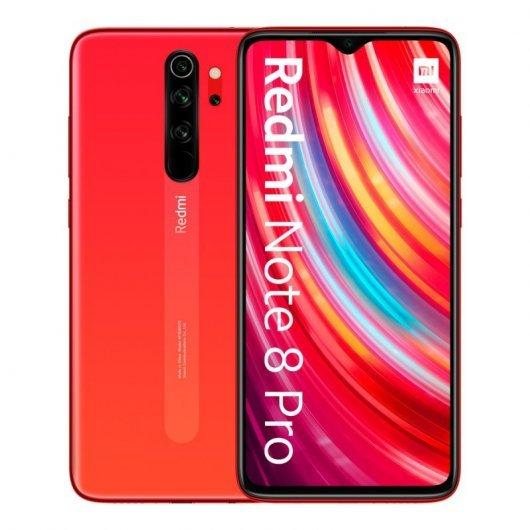 Smartphone Xiaomi Redmi Note 8 Pro 6/128GB Naranja Coral