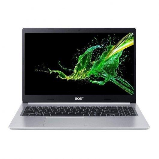 Portatil Acer Aspire 5 A515-56-77UC i7-1165G7 8GB 512GB SSD 15.6' sin S.O. Plata
