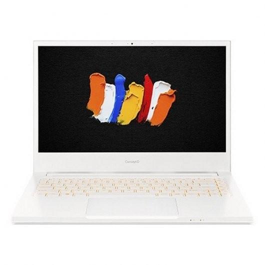 Portatil Acer ConceptD 3 CN314-72-7836 i7-10750H 8GB 1TB SSD GTX1650 4gb 14' w10pro Blanco