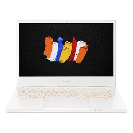 Portatil Acer ConceptD 3 Pro CN314-72P-5244 i5-10300H 8GB 512GB SSD QuadroT1000 4gb 14' w10pro Blanco