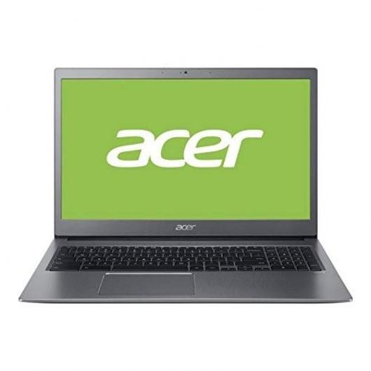 Portatil Acer Chromebook 715 i5-8250U 8GB 128GB 15.6' Chrome OS Gris acero