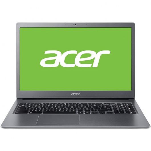 Portatil Acer Chromebook 715 1W-54NE i5-8250U 8GB 128GB 15.6' Chrome OS Gris acero