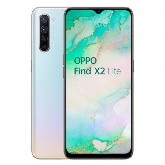 Smartphone Oppo Find X2 Lite 8/128GB 5G Pearl White - 6.4' cam (48+8+2+2)/32mp - 4025mah