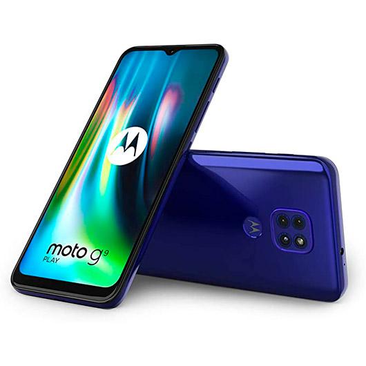 Smartphone Motorola Moto G9 Play 4/64GB Sapphire Blue
