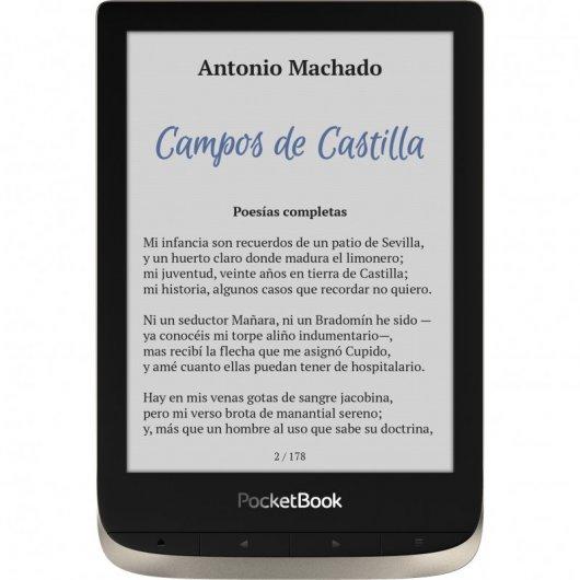 PocketBook Color eReader 6' 16GB Wifi Moon Silver