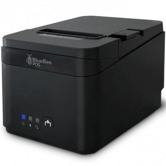 BlueBee Print-07 Impresora de Tickets USB/RS232 negra