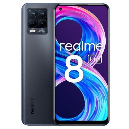 Smartphone Realme 8 Pro 8/128GB Negro Infinito