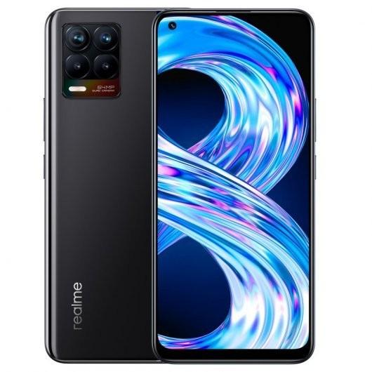 Smartphone Realme 8 4/64GB Negro