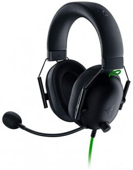 Auriculares Gaming Multiplataforma Razer BlackShark V2 + Usb Mic Enhancer