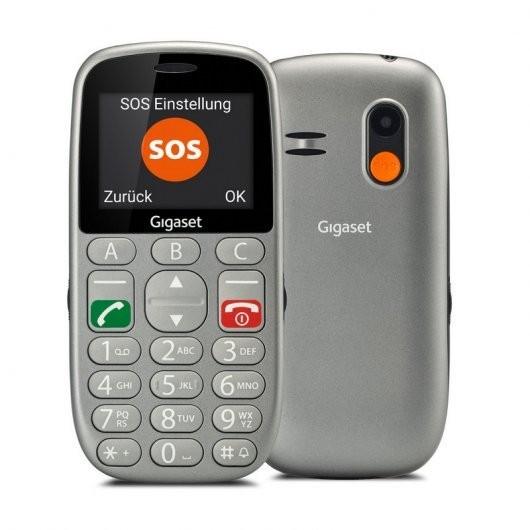 Gigaset GL390 Dual SIM Negro Teléfono para Mayores