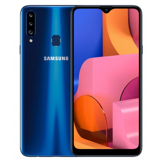 Smartphone Samsung Galaxy A20s 6.5' 3/32GB Blue - 13+8+5mp/8mp 4G Dualsim