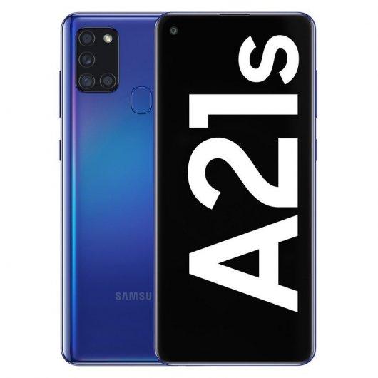 Smartphone Samsung Galaxy A21s 4/128GB 6.5' Azul