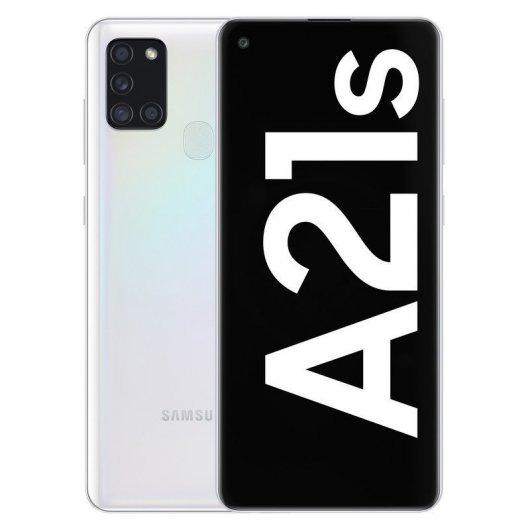 Smartphone Samsung Galaxy A21s 3/32GB 6.5' Blanco