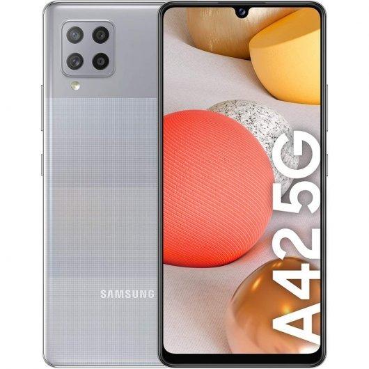Smartphone Samsung Galaxy A42 4/128GB 6.6' 5G Gris