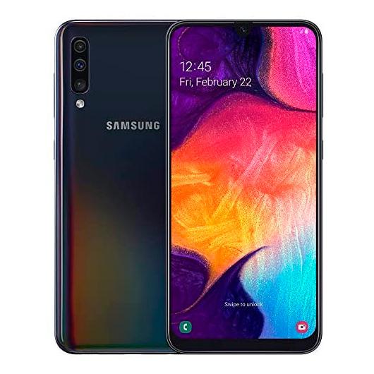 Samsung Galaxy A50 SM-A505F Enterprise Edition 6.4' 4/128GB DualSim Negro
