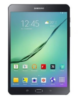 Tablet samsung galaxy tab s2 black - oc 1.8ghz+1.4ghz - 32gb - 3gb ram - 8'/20.31cm 2048x1536 - android 6.0 - bt4.1 - dual cam