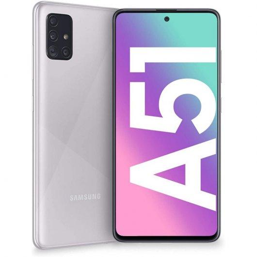 Smartphone Samsung Galaxy A51 4/128GB 6.5' Plata metálico