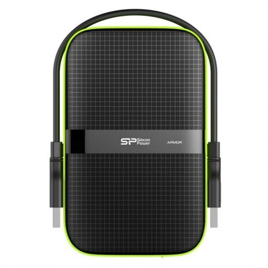 Silicon Power Armor A60 disco duro externo 4TB 2.5' Negro - USB Resistente golpes/agua