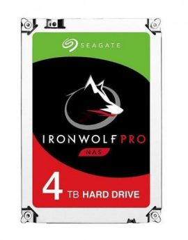 "HDD Seagate Ironwolf Pro NAS 3.5"" 4TB Sata3 256MB"