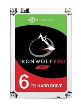 "HDD Seagate Ironwolf Pro NAS 3.5"" 6TB Sata3 256MB"