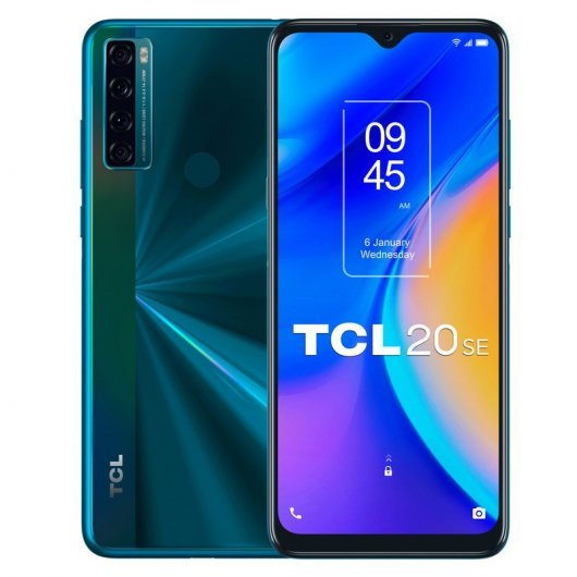 Smartphone TCL 20 SE 4/64GB 6.82' Verde Aurora