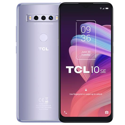 Smartphone TCL T766H 10SE 4/128GB Lcy silver - 6.52' 8mp/48mp