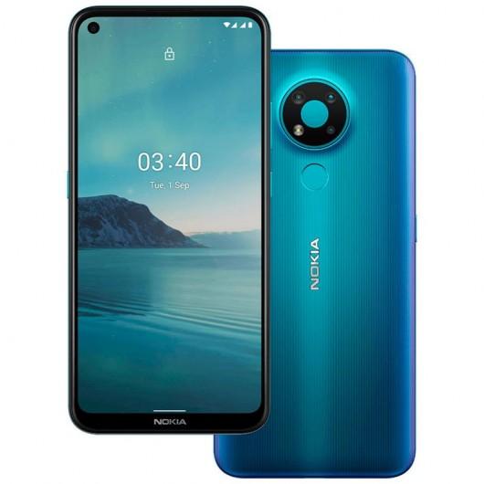 Smartphone Nokia 3.4 4/64GB Azul