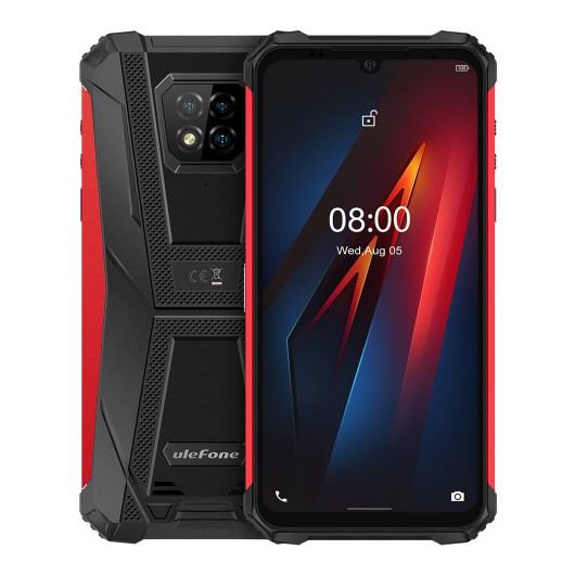 Smartphone Ulefone Armor 8 4/64GB Rojo