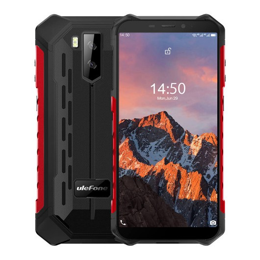 Smartphone Ulefone Armor X5 Pro 4/64GB Rojo