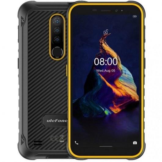 Smartphone Ulefone Armor X8 4/64GB Negro/Naranja