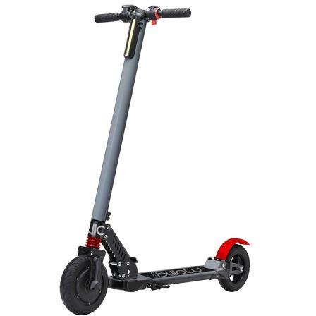 Patinete electrico scooter billow urban85g gris - ruedas 8'/20.3cm - motor 250w - 24km/h - carga max. 120kg - bat 4400mah