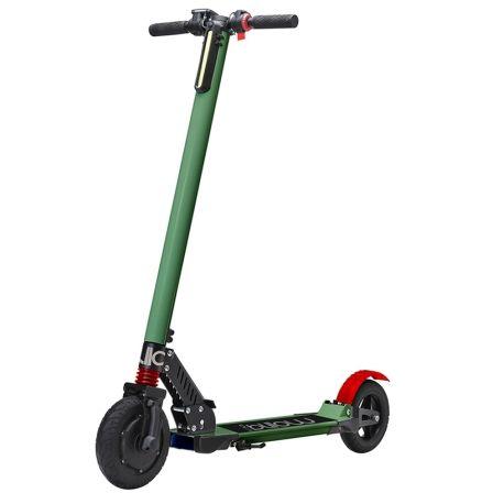 Patinete electrico scooter billow urban85k verde - ruedas 8'/20.3cm - motor 250w - 24km/h - carga max. 120kg - bat 4400mah