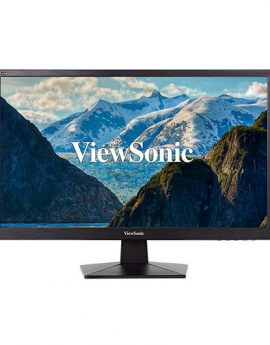 Monitor Led 24  Viewsonic Va2407h Negro