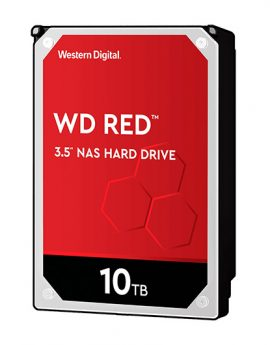 "HDD Western Digital WD101EFAX Red NAS 10TB 3.5"" Sata3 256mb"