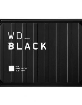 Disco Duro Externo Western Digital P10 Game Drive 5TB Negro