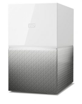 Western Digital My Cloud Home Duo 4TB Ethernet Gris Almacenamiento Personal en la nube