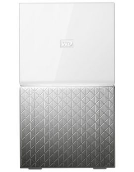 Western Digital Disco duro externo My Cloud Home Duo 6TB