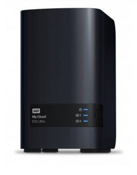 Western Digital My Cloud EX2 Ultra NAS 2 Bahias 3.5''