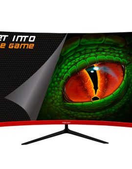 Monitor 27 Hdmi Dvi Dp Dc  Keep Out Xgm27c+ Gaming Curvo Grado A+ Fhd1920x1080 Freesync Amd 165hz 1ms Angulo De Vision 170ª