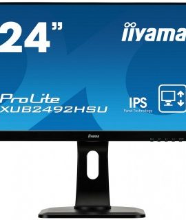 "iiyama ProLite XUB2492HSU-B1 23.8"" Full HD IPS Mate Negro Plana pantalla para PC LED display"