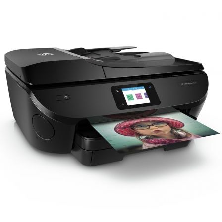 Multifunción hp wifi con fax envy photo 7830 - 22/21ppm a4 borrador - 21cpm - duplex - escáner 1200ppp - adf - eprint- airprint