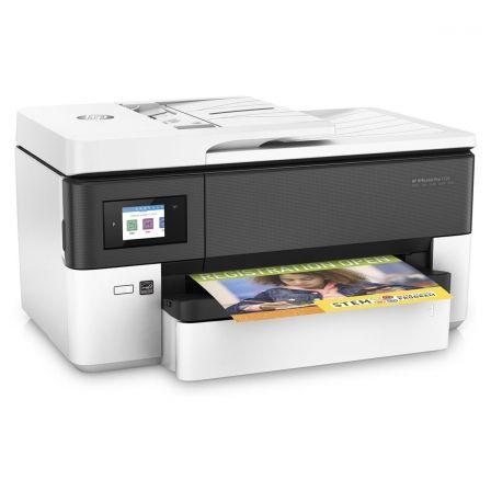 Multifunción hp wifi con fax officejet pro 7720 - a3 - 34/34ppm a4 borrador - duplex - scan 1200ppp - adf - usb - lan - 2xrj11