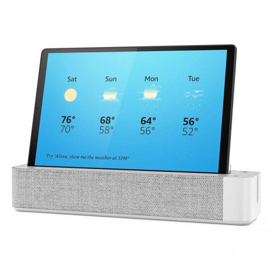 Tablet Lenovo Smart Tab M10 TB-X606F FHD Plus 10.3' 4/64GB Gris acero