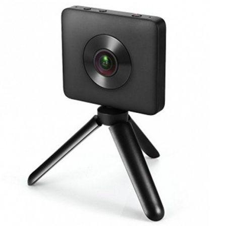 Cámara deportiva xiaomi mi sphere camera kit - 360º - 3456*1728/30fps -  23.88 mpx - microsd - wifi - bt - microusb - batería